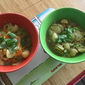 My Minestrone with Chicken Meatballs - Kid Friendly Food
