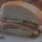 Honey Ham & Cucumber Hero Sandwich