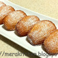 Orange Blossom and Cardamom flavored Madeleines