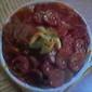 Orange~Harvard Beet Warm Salad
