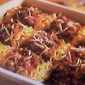 Baked Lasagna Meat Sauce and Cheese Roll-Ups