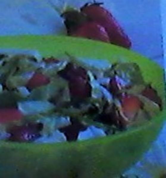Strawberry & Cabbage Slaw