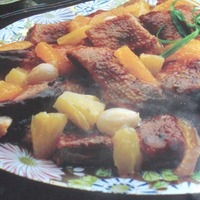 CHINESE ROAST DUCK WITH FRUIT SAUCE