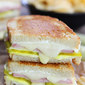 Dill Pickle Wrap Grilled Cheese