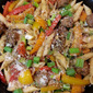 Italian Sausage and Rainbow Pepper Penne