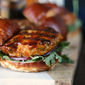 Mahi Mahi Burgers Glazed with IPA-Hoisin Barbecue Sauce | #BeerMonth