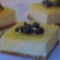 Lemon~Blueberry Creamcheese No Bake Bars