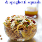 Impulsive Farro Salad with Spaghetti Squash