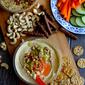 Pesto, Pickled Celery & Hazelnut Hummus Recipe: The Unofficial Meal