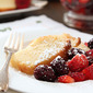 Ricotta Pound Cake with Fresh Berries