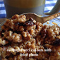 Overnight Steel Cut Oats with Dried Plums