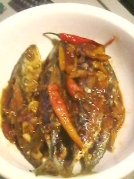 Escabecheng Galunggong with Homemade Tomato Jam