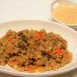 Khara Bath/ Masala Rava Kichadi (made with wheat rava)