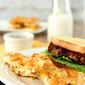 Cheesy Hashbrown Waffles