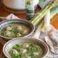 Fowl Ball: Spring Chicken Meatball Soup with Orzo