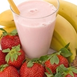 Bethany's Best Banana Strawberry Smoothie