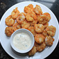 Fried Shrimp with Meyer Lemon Tartar Sauce
