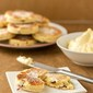 Welsh cakes with honey butter