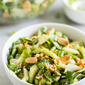 Baby Bok Choy Salad with Sesame Dressing