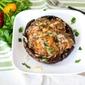 Mushroom Cap Chorizo Burger