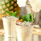 Roasted Pineapple and Rum Mint Julep
