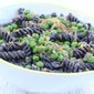 Black Bean Pasta + Peas