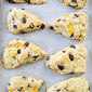 Mango Dark Chocolate Chunk Scones