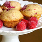 Mini Raspberry Muffins for my Toddler