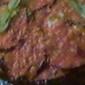20 minute Skillet Baked Eggplant Parmesan