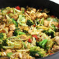 Skinny, Chicken and Veggie Stir-Fry