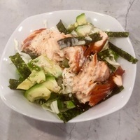 Pan Fried Miso Salmon bowl with Faro or Wheatberries