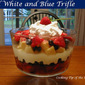 Red White and Blue Trifle