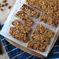 Almond Butter Chocolate Granola Bars