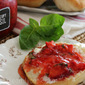 Strawberry Basil Freezer Jam