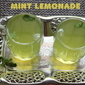 Mint lemonade recipe – how to make fresh mint lemonade recipe – summer drinks