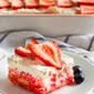 Strawberry Jello Poke Cake
