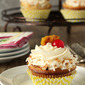 Pina Colada Cupcakes with Rum Buttercream