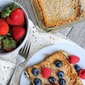 Lightened Up Coconut French Toast Casserole