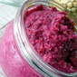 Beet and Chickpea roasted Almond spread or dip