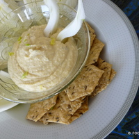 Chickpea 'Hummus' style spread or dip