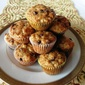 Banana Oatmeal Chocolate Chip Mini Cakes
