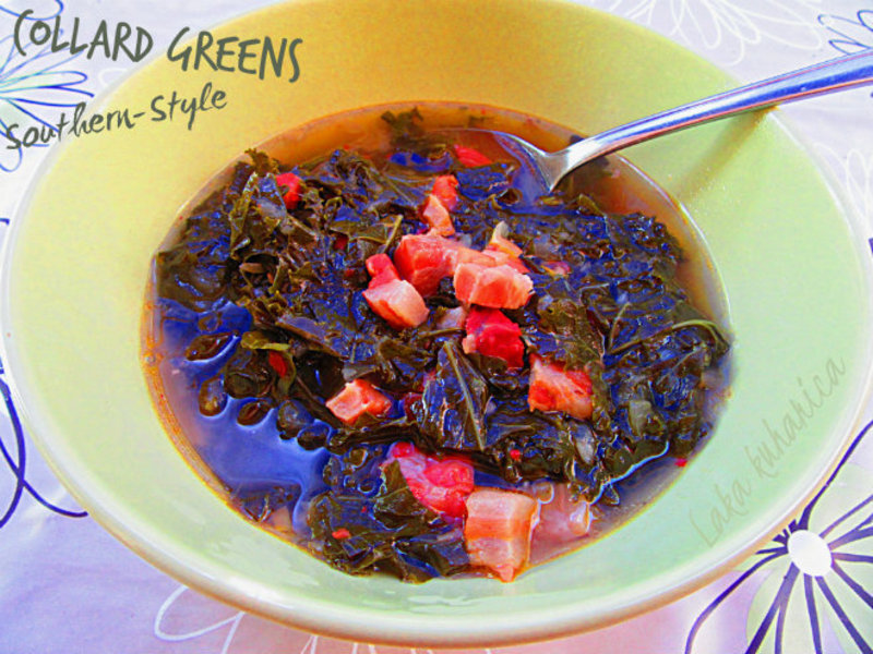 Collard greens Southern-Style Recipe by Kathairo ...