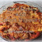 Baked Ravioli with Sweet Peppers