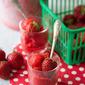 Berry Quick: No-Churn Strawberry-Basil Blender Sorbet
