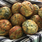 Beautiful Spinach, Corn and Feta Muffins - The Joys of Frozen Food