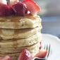 Strawberry Vanilla Pancakes