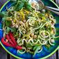 Thai Chickpea Zucchini Noodle Salad Recipe