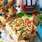 No Bake Peanut Butter Cereal Bars + GIVEAWAY