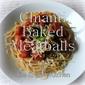 Chianti Baked Meatballs