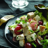 Chicken Salad with Pecans and Grapes